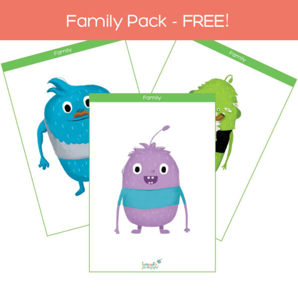family members, flashcards pack free download feat. img
