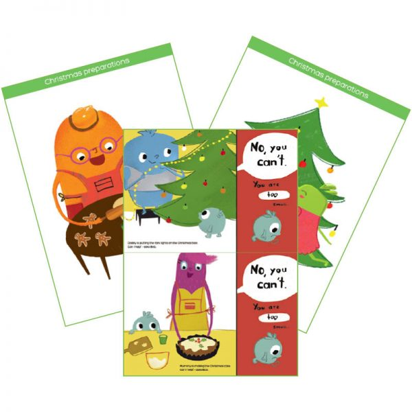 Christmas story flashcards & interactive cards product cover