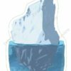 printable flashcards, iceberg
