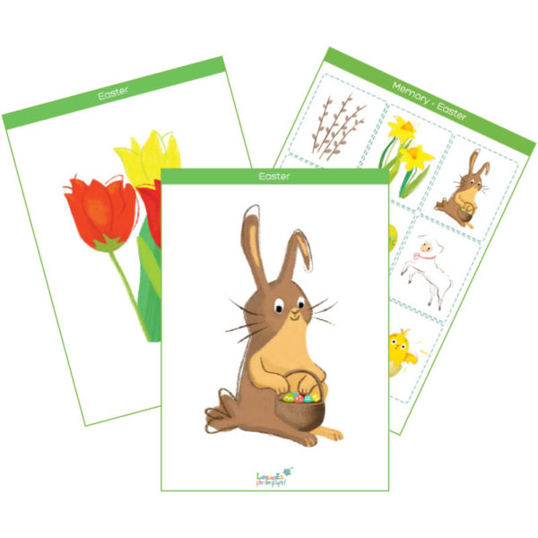 easter flashcards pack feat. img