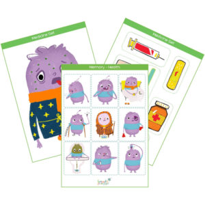 health printable flashcards