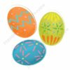 easter printable flashcards, decorated eggs