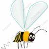 printable flashcards, bee