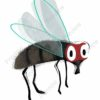 printable flashcards, fly