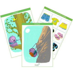 holidays & summer holidays flashcards product cover