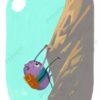 printable flashcards, summer holidays, climb a rock