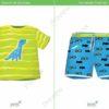 printable flashcards, summer clothes, t-shirt, shorts