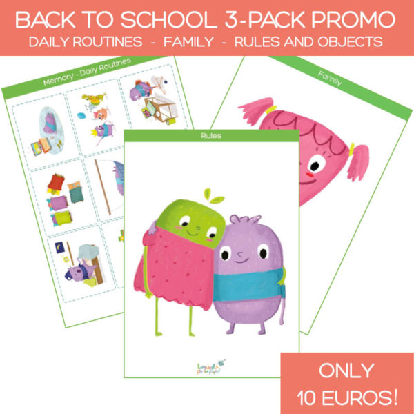 back to school 3-pack promo flashcards product image