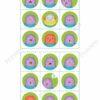 printable bingo game, emotions 1