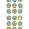 printable bingo game, emotions 2