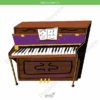 printable flashcards, musical instruments, piano