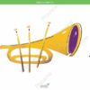 printable flashcards, musical instruments, trumpet