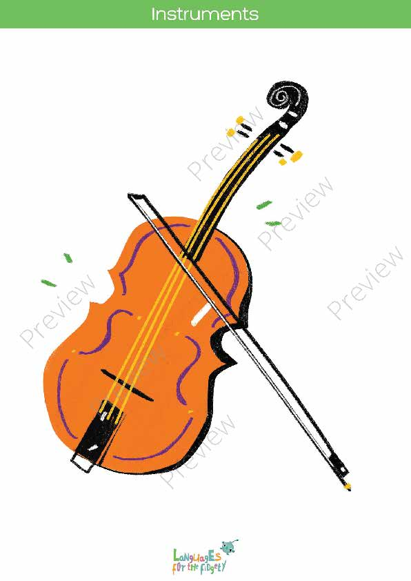 picture regarding Printable Pictures of Musical Instruments referred to as Musical Tools Printable Flashcards, Memory Match Bingo