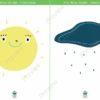 printable flashcards itsy bitsy spider sun rain
