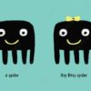printable flashcards itsy bitsy spider story spiders