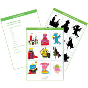 Fairytale Printable Flashcards