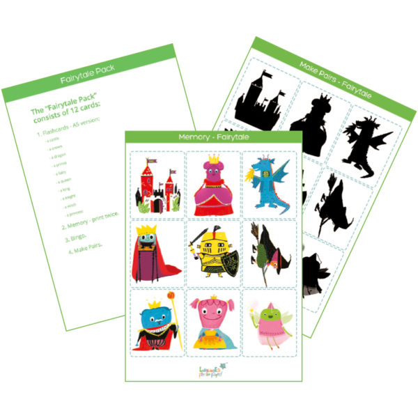 fairytale flashcards featured imgage