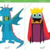 printable flashcards fairytale dragon prince