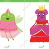 printable flashcards fairytale fairy queen