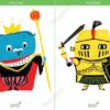 printable flashcards fairytale king knight