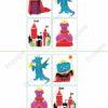 printable flashcards fairytale bingo