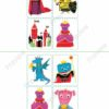 printable flashcards fairytale bingo 2