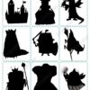 printable flashcards fairytale pairs game