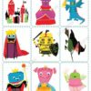 printable flashcards fairytale pairs game 2